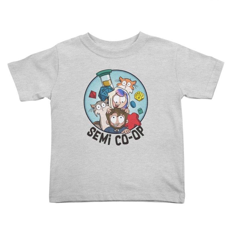 Semi Co-op Circle (light) Kids Toddler T-Shirt by Semi Co-op