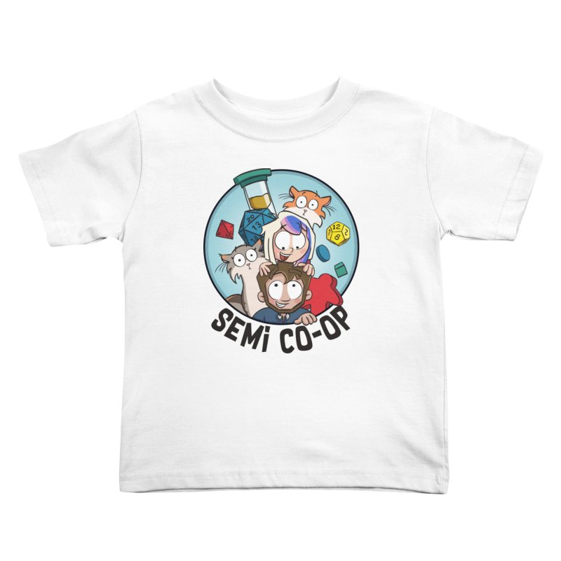 Semi Co-op Circle (light) Kids Toddler T-Shirt by Semi Co-op