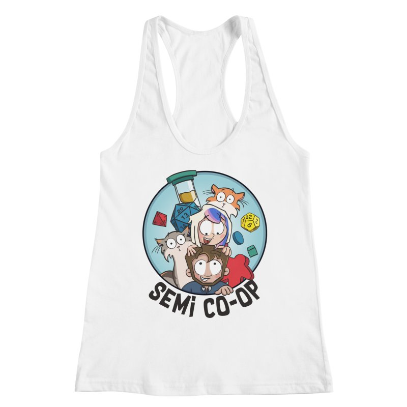 Semi Co-op Circle (light) Women's Tank by Semi Co-op