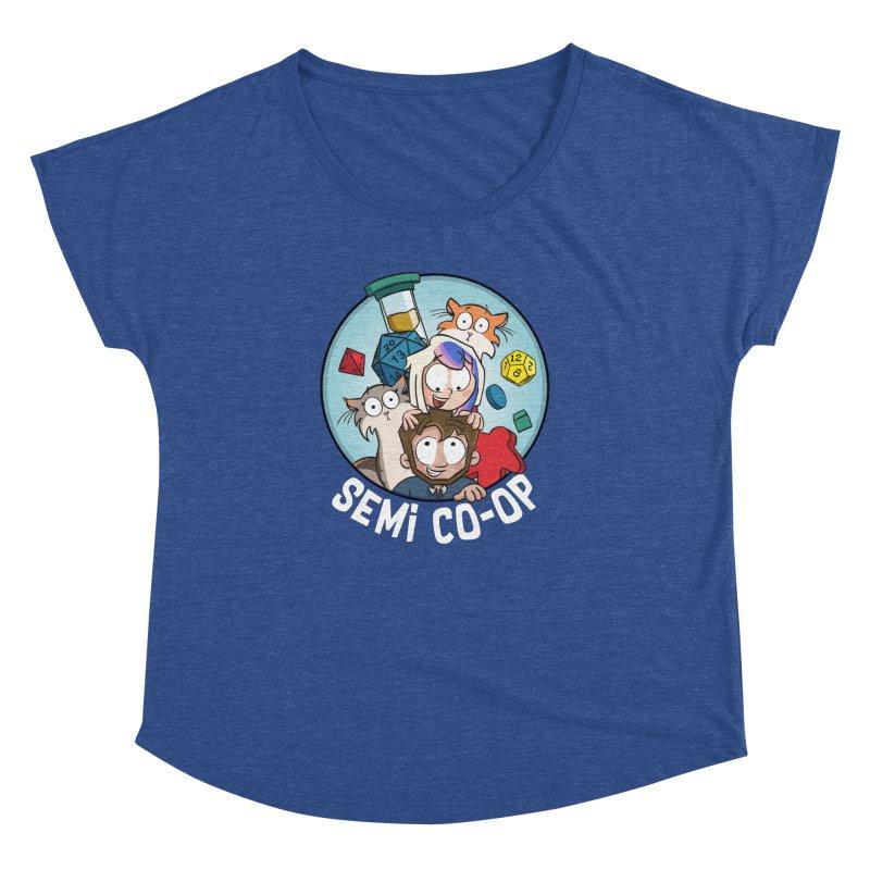 Semi Co-op Circle Women's Dolman Scoop Neck by Semi Co-op