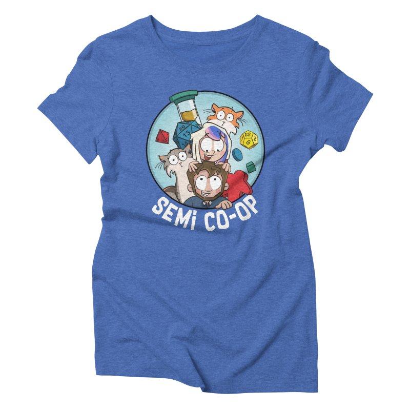 Semi Co-op Circle Women's Triblend T-Shirt by Semi Co-op