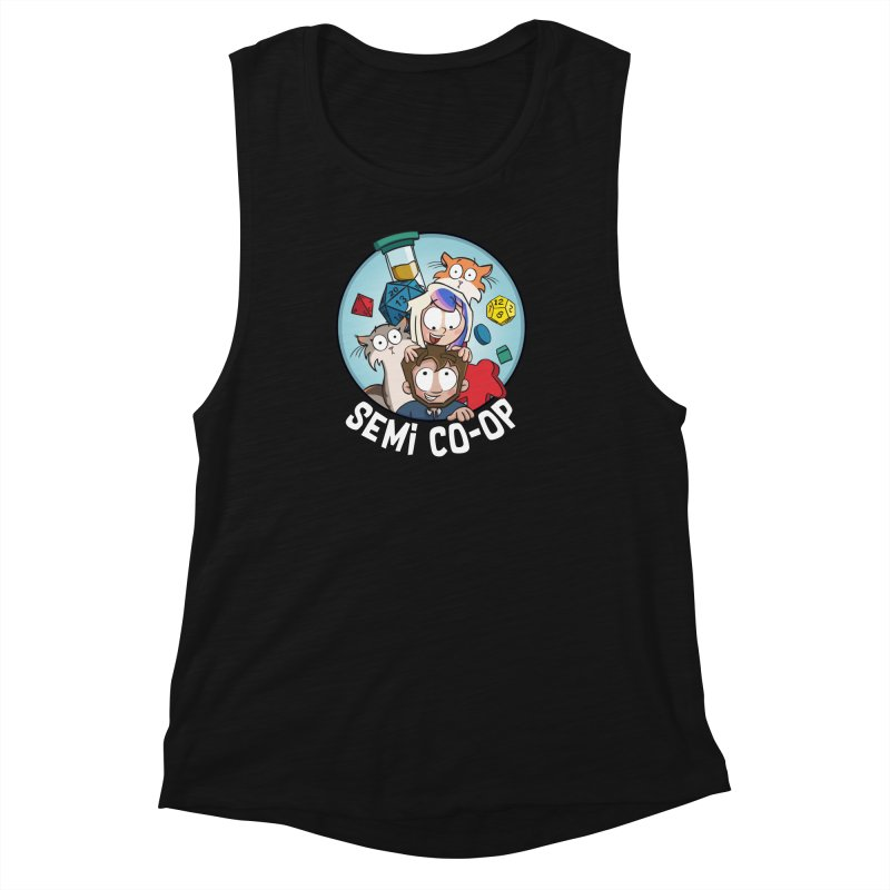 Semi Co-op Circle Women's Muscle Tank by Semi Co-op