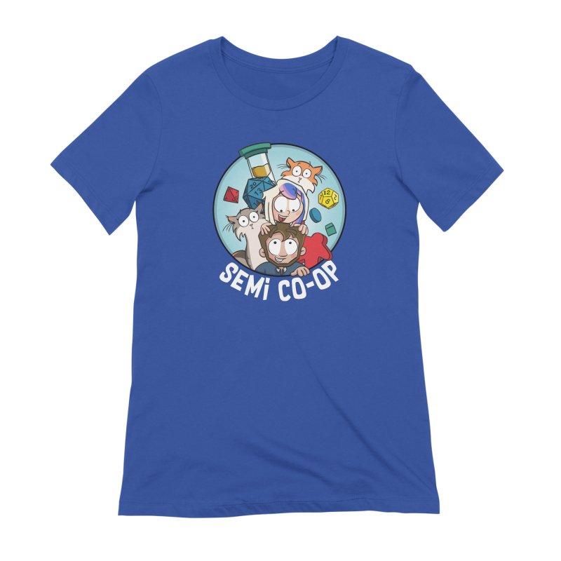 Semi Co-op Circle Women's Extra Soft T-Shirt by Semi Co-op