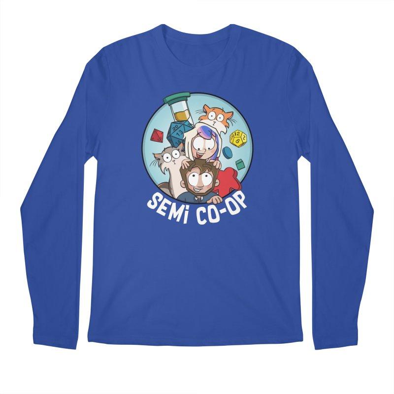 Semi Co-op Circle Men's Regular Longsleeve T-Shirt by Semi Co-op
