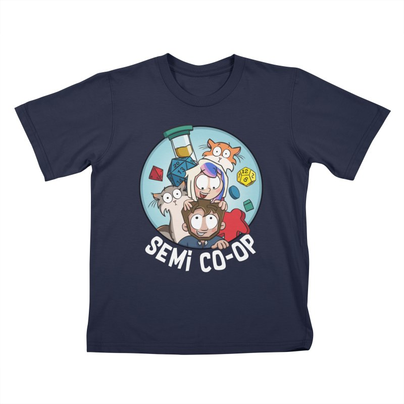 Semi Co-op Circle Kids T-Shirt by Semi Co-op