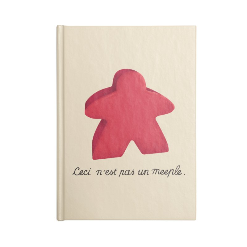 Ceci n'est pas un meeple Accessories Notebook by Semi Co-op