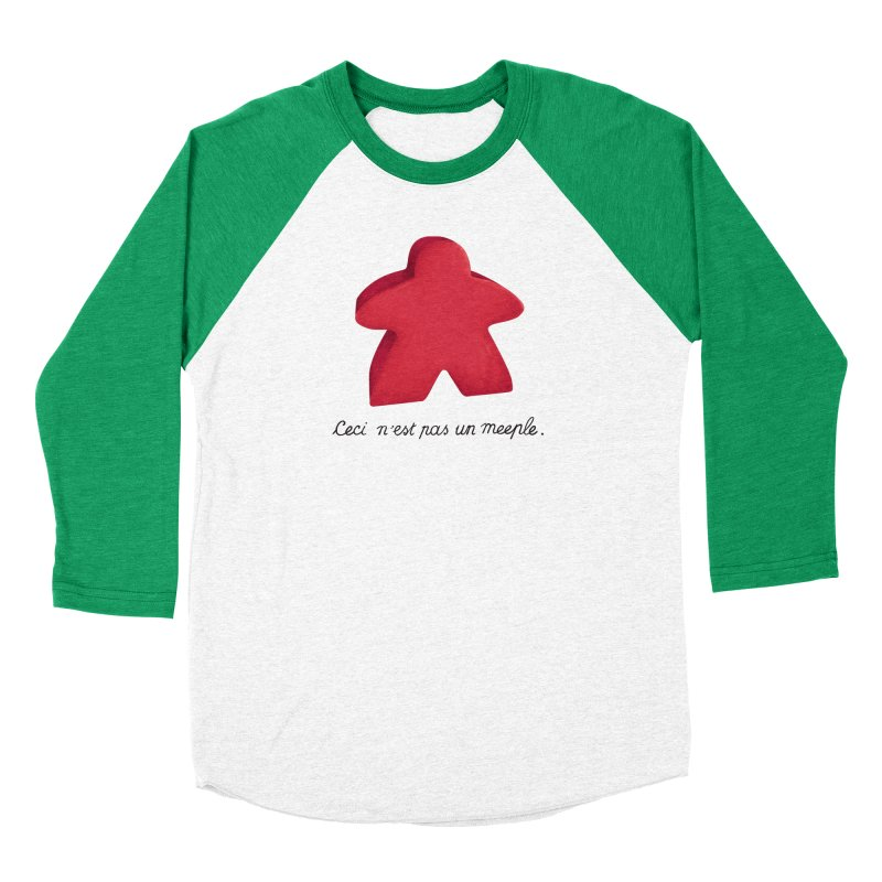Ceci n'est pas un meeple Men's Longsleeve T-Shirt by Semi Co-op