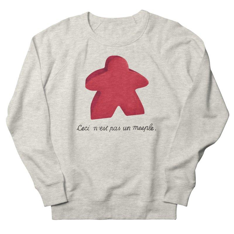 Ceci n'est pas un meeple Women's Sweatshirt by Semi Co-op