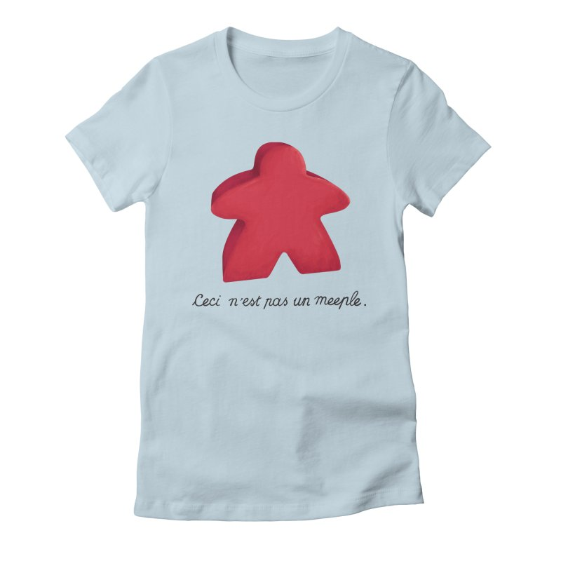 Ceci n'est pas un meeple Women's T-Shirt by Semi Co-op