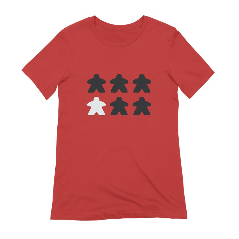 Simply Meeples Women's Extra Soft T-Shirt by Semi Co-op