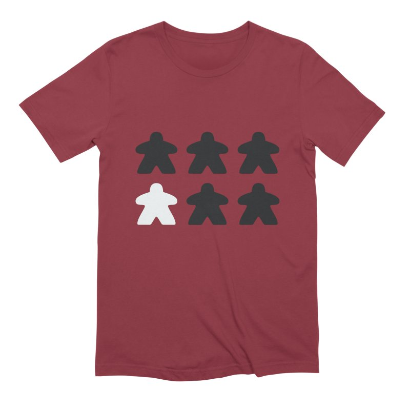 Simply Meeples Men's Extra Soft T-Shirt by Semi Co-op