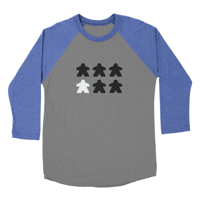 Simply Meeples Women's Longsleeve T-Shirt by Semi Co-op