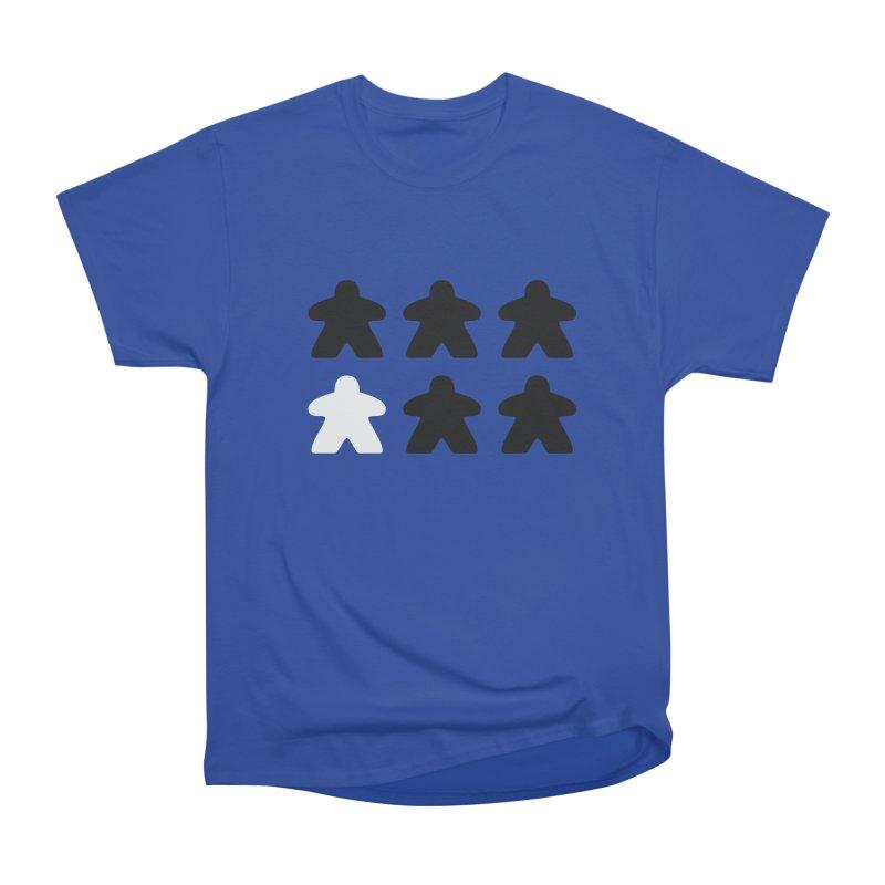 Simply Meeples Men's Heavyweight T-Shirt by Semi Co-op