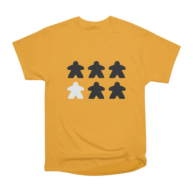 Simply Meeples Women's Heavyweight Unisex T-Shirt by Semi Co-op