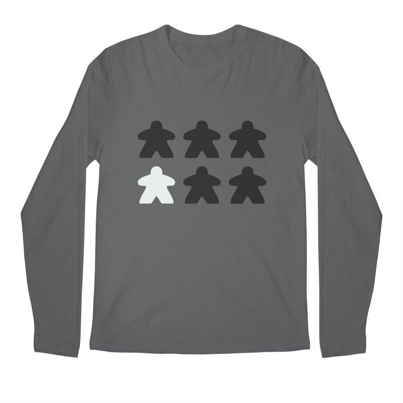 Simply Meeples Men's Regular Longsleeve T-Shirt by Semi Co-op