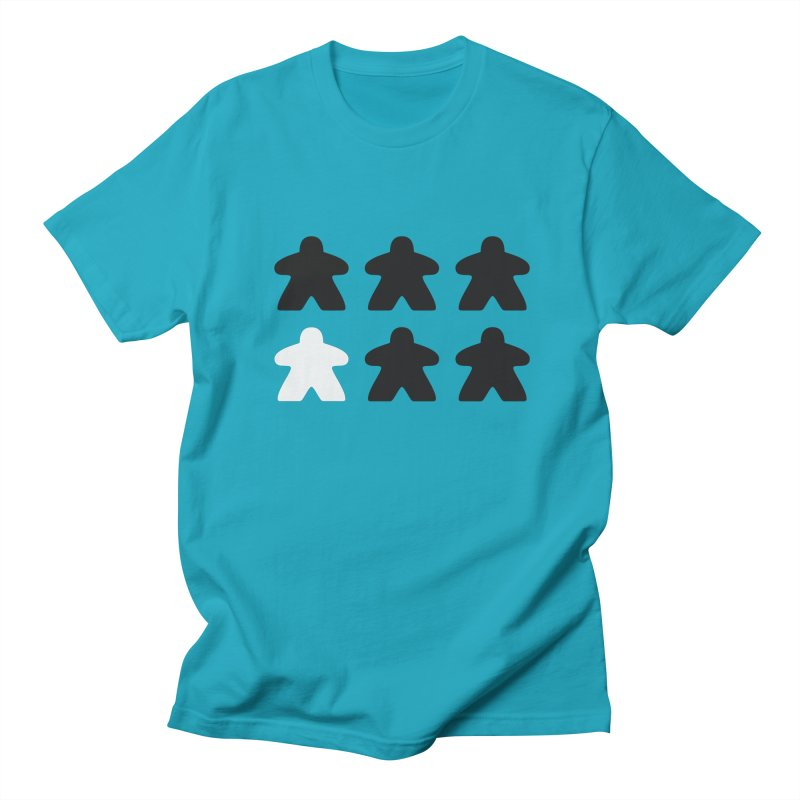 Simply Meeples Men's Regular T-Shirt by Semi Co-op