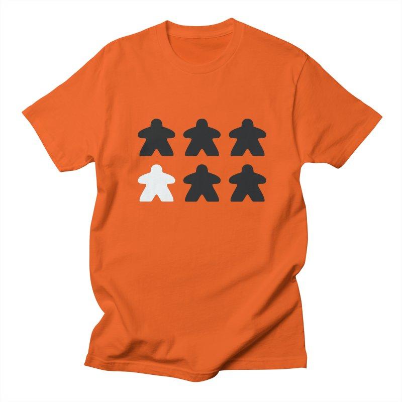 Simply Meeples Women's Regular Unisex T-Shirt by Semi Co-op