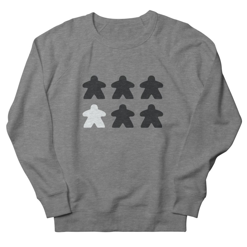 Simply Meeples Women's French Terry Sweatshirt by Semi Co-op