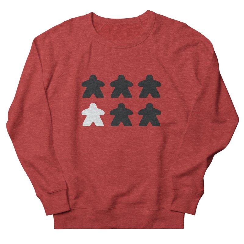 Simply Meeples Men's French Terry Sweatshirt by Semi Co-op