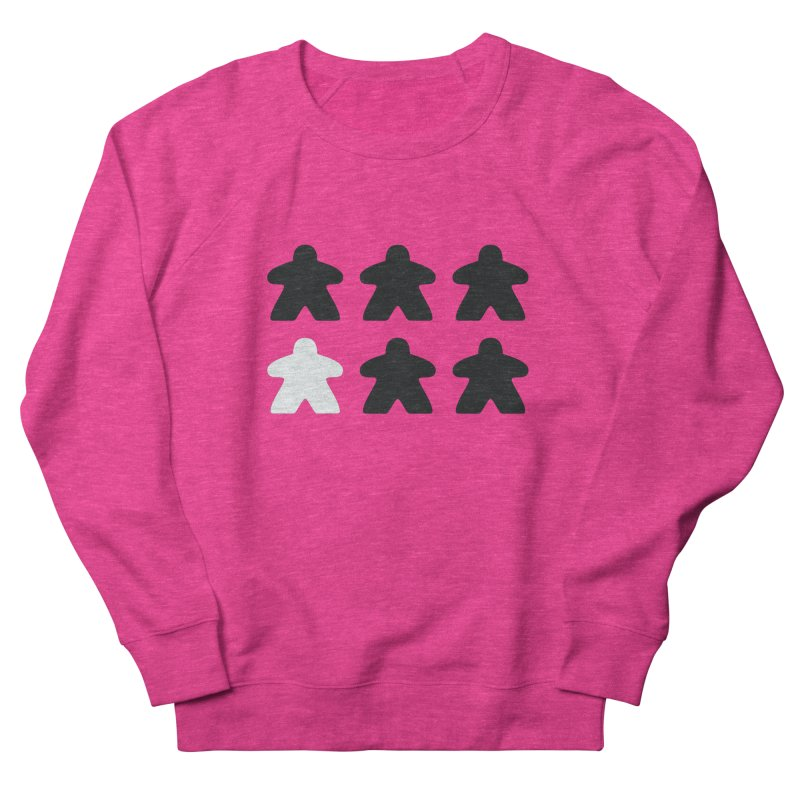 Simply Meeples Men's French Terry Sweatshirt by Semi Co-op