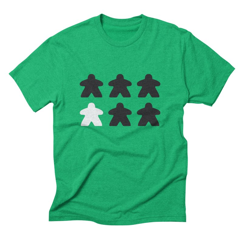 Simply Meeples Men's Triblend T-Shirt by Semi Co-op