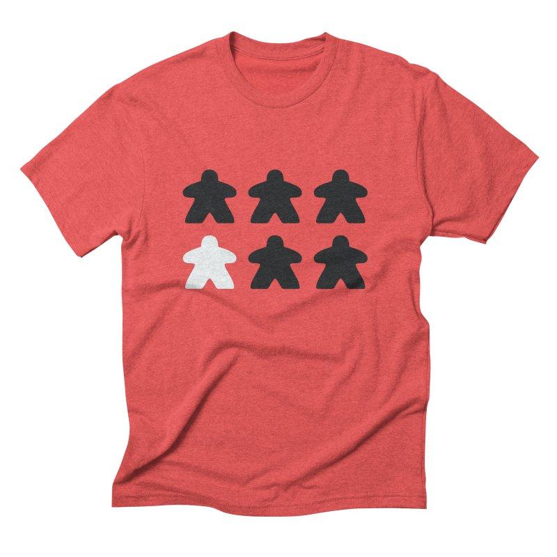 Simply Meeples Men's Triblend T-Shirt by Semi Co-op