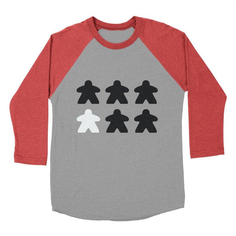 Simply Meeples Women's Baseball Triblend Longsleeve T-Shirt by Semi Co-op