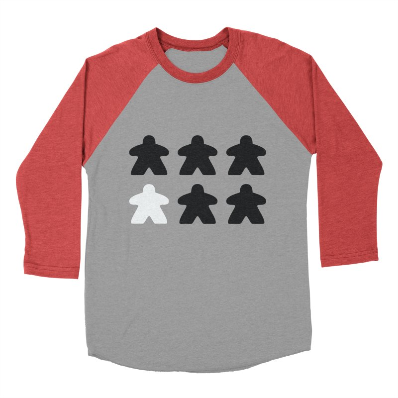 Simply Meeples Men's Baseball Triblend Longsleeve T-Shirt by Semi Co-op