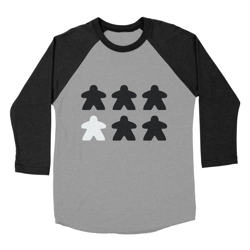 Simply Meeples Men's Baseball Triblend T-Shirt by Semi Co-op