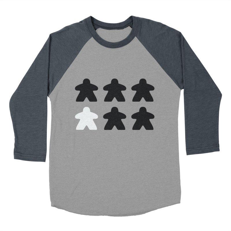 Simply Meeples Men's Baseball Triblend Longsleeve T-Shirt by Semi Co-op