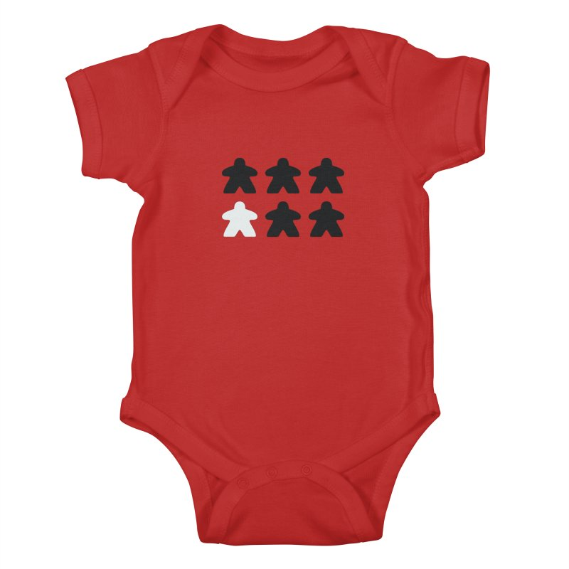 Simply Meeples Kids Baby Bodysuit by Semi Co-op