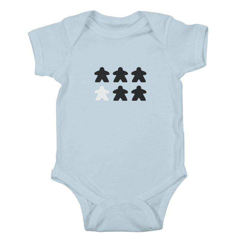 Simply Meeples Kids Baby Bodysuit by Semi Co-op