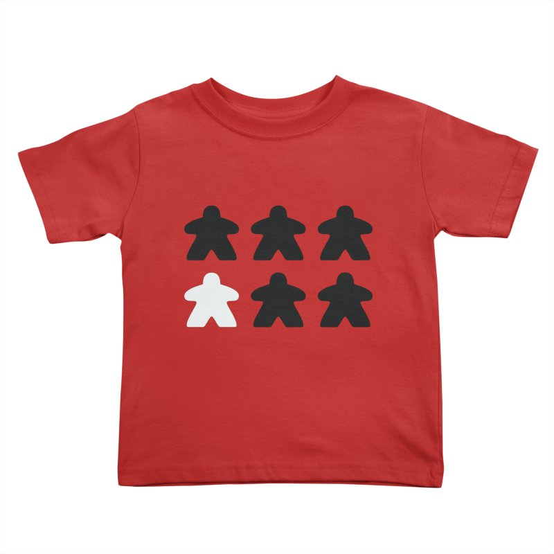 Simply Meeples Kids Toddler T-Shirt by Semi Co-op