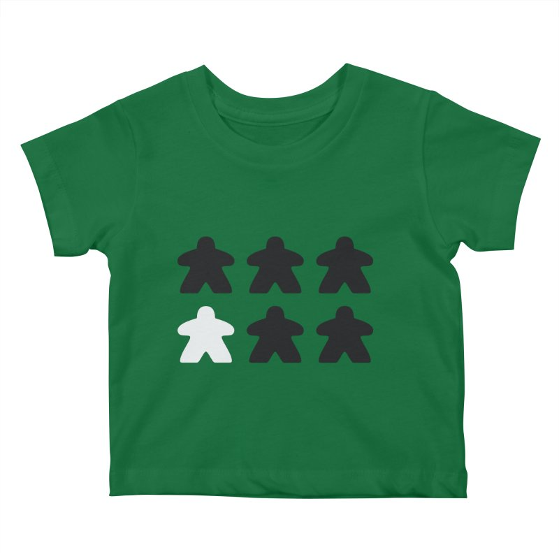 Simply Meeples Kids Baby T-Shirt by Semi Co-op