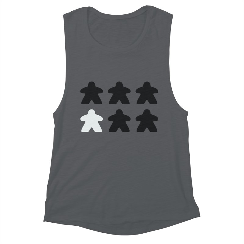 Simply Meeples Women's Muscle Tank by Semi Co-op