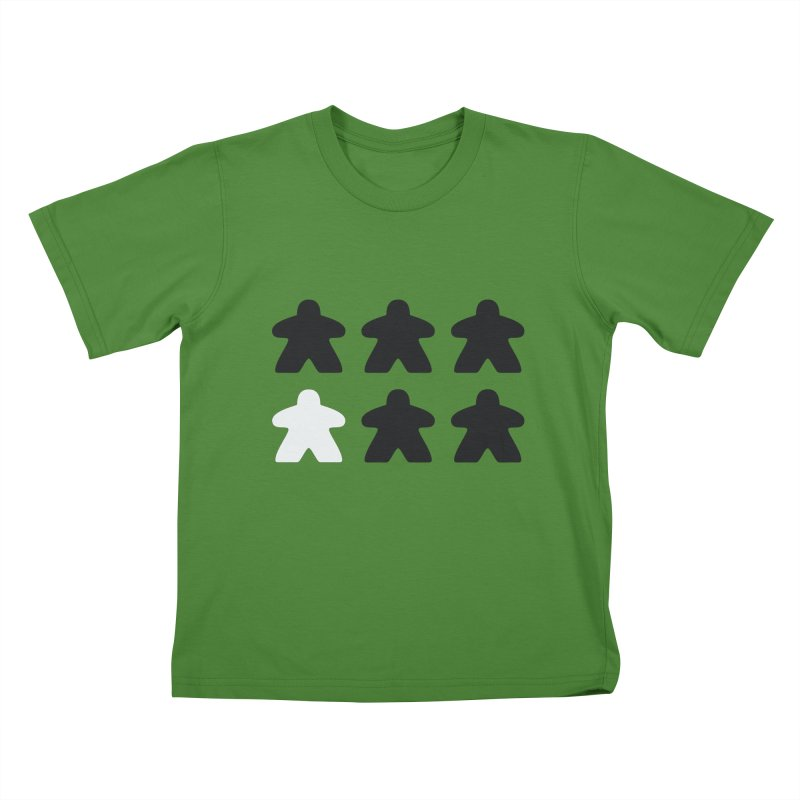 Simply Meeples Kids T-Shirt by Semi Co-op