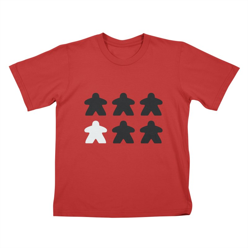 Simply Meeples Kids T-Shirt by Semi Co-op