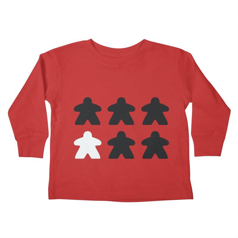 Simply Meeples Kids Toddler Longsleeve T-Shirt by Semi Co-op