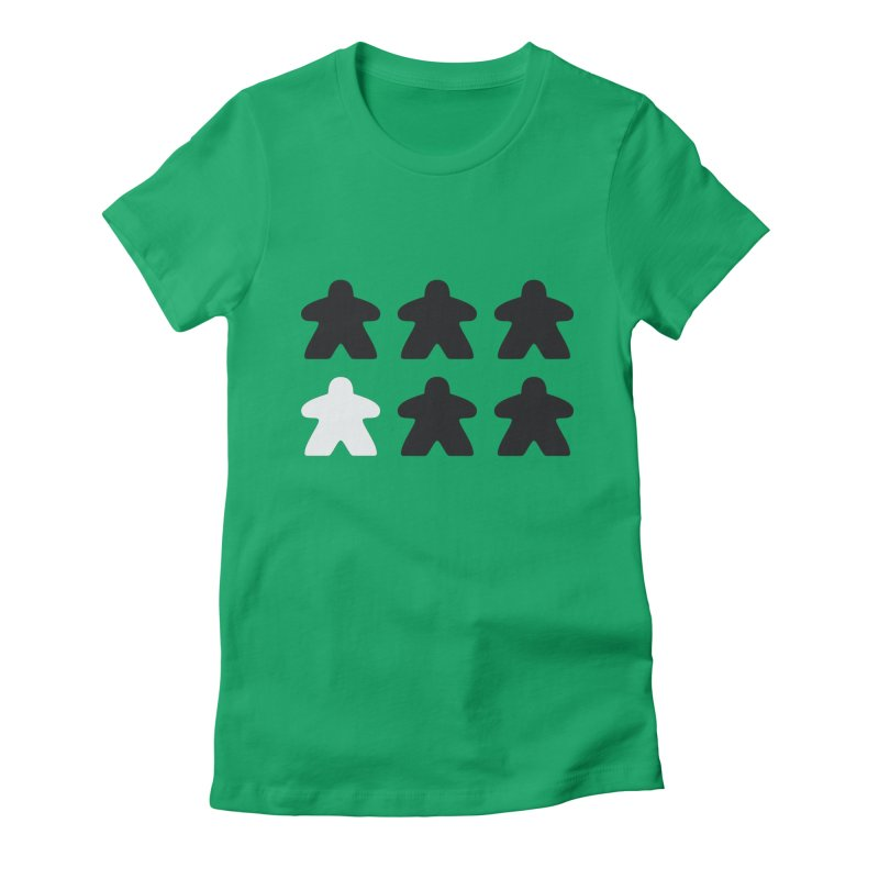 Simply Meeples Women's T-Shirt by Semi Co-op