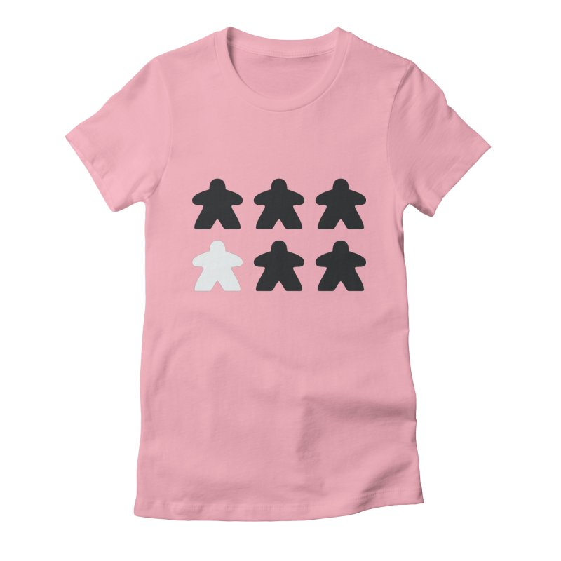 Simply Meeples Women's Fitted T-Shirt by Semi Co-op
