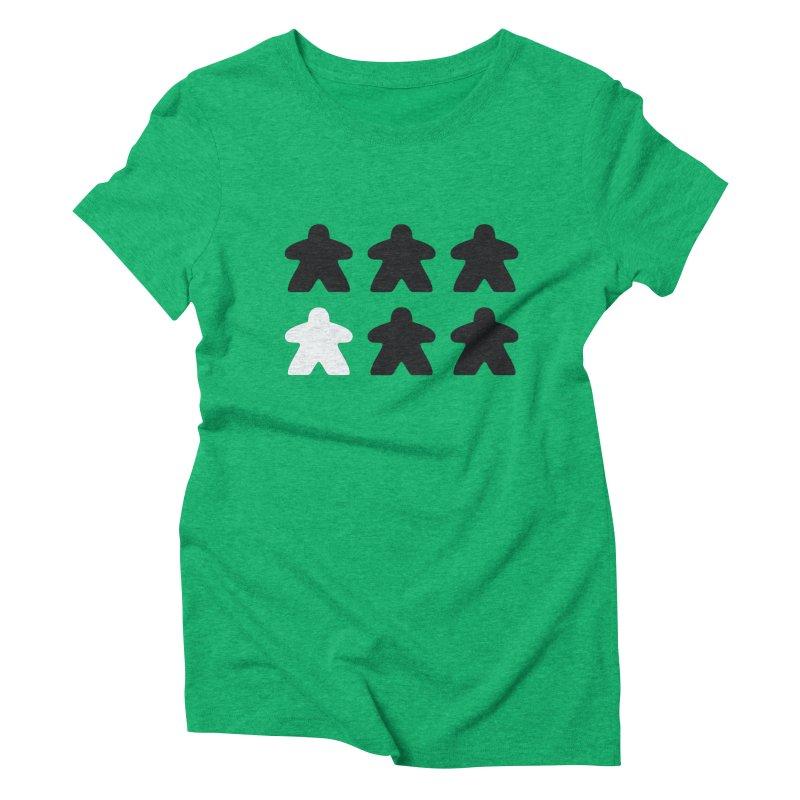 Simply Meeples Women's Triblend T-Shirt by Semi Co-op