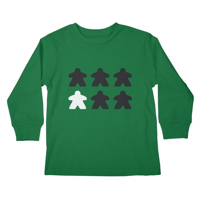 Simply Meeples Kids Longsleeve T-Shirt by Semi Co-op