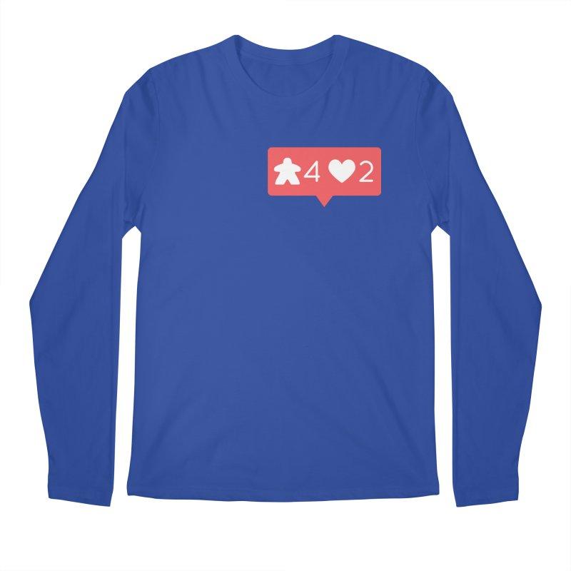 Likes! Men's Regular Longsleeve T-Shirt by Semi Co-op