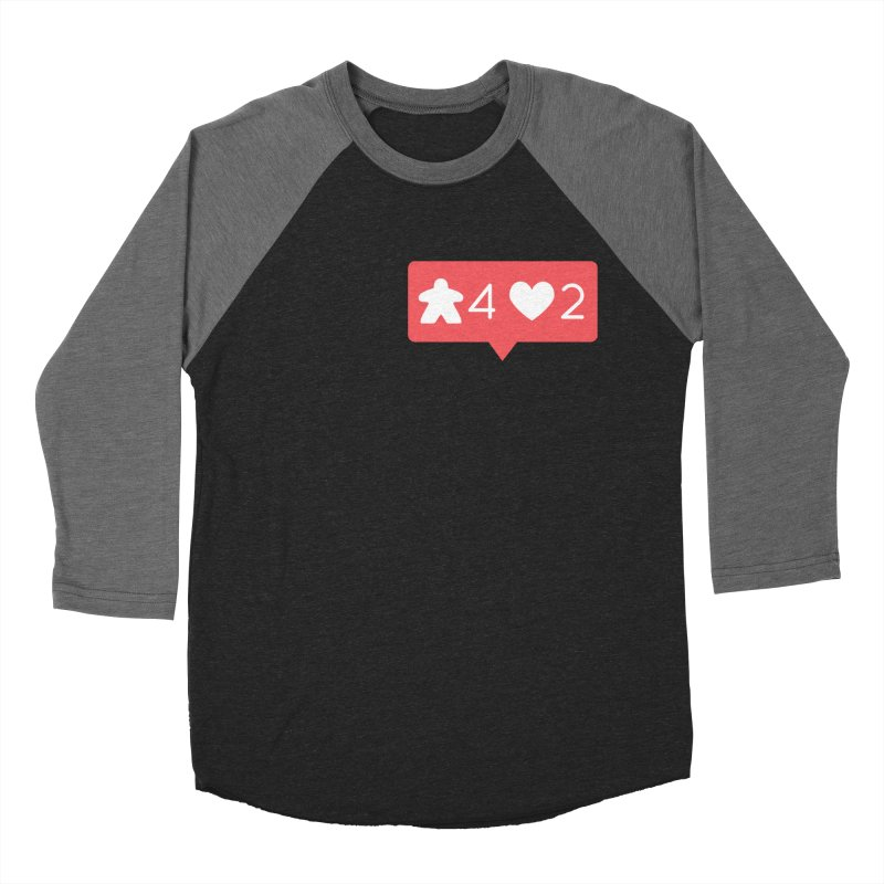 Likes! Men's Baseball Triblend Longsleeve T-Shirt by Semi Co-op