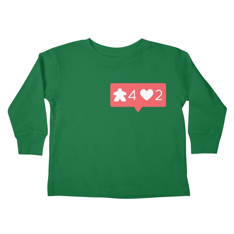 Likes! Kids Toddler Longsleeve T-Shirt by Semi Co-op