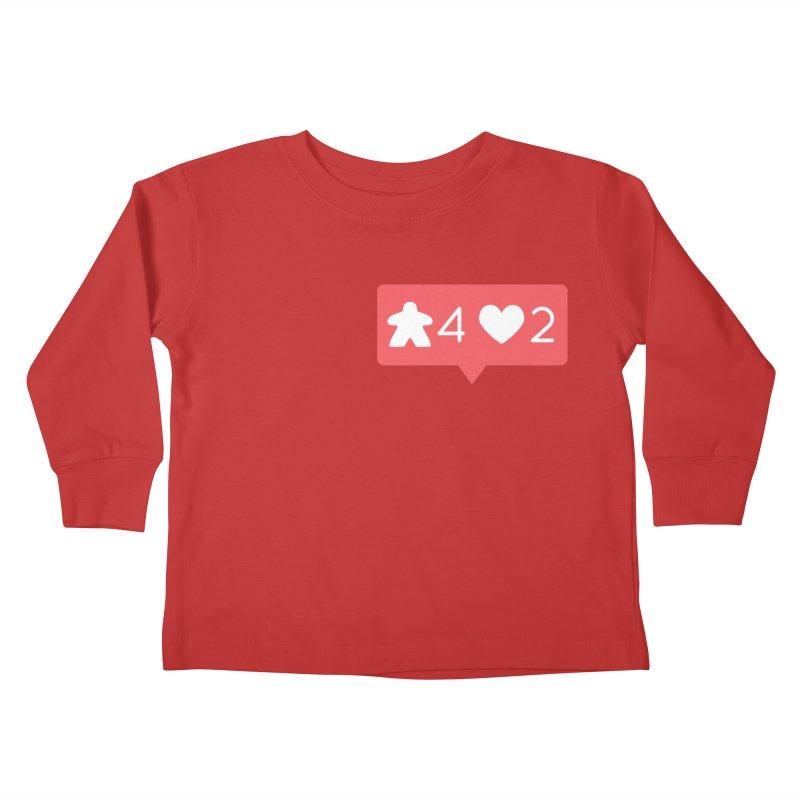 Likes! Kids Toddler Longsleeve T-Shirt by Semi Co-op