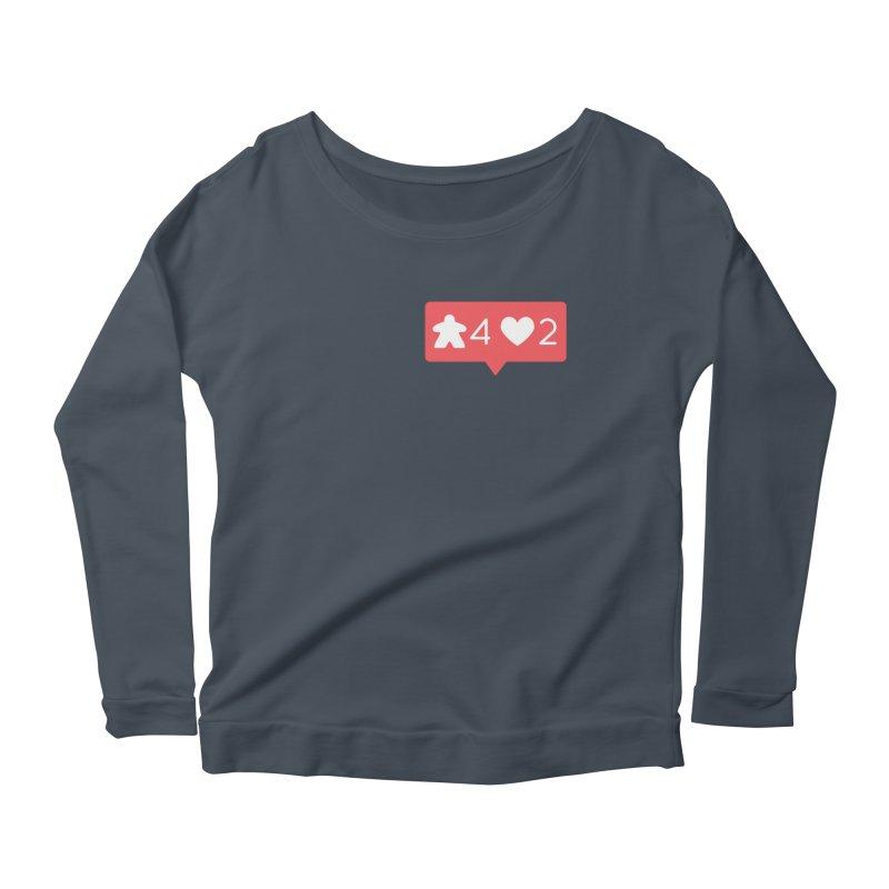 Likes! Women's Scoop Neck Longsleeve T-Shirt by Semi Co-op