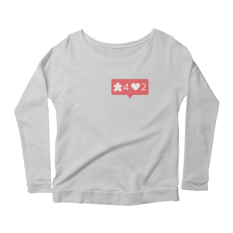 Likes! Women's Scoop Neck Longsleeve T-Shirt by Semi Co-op