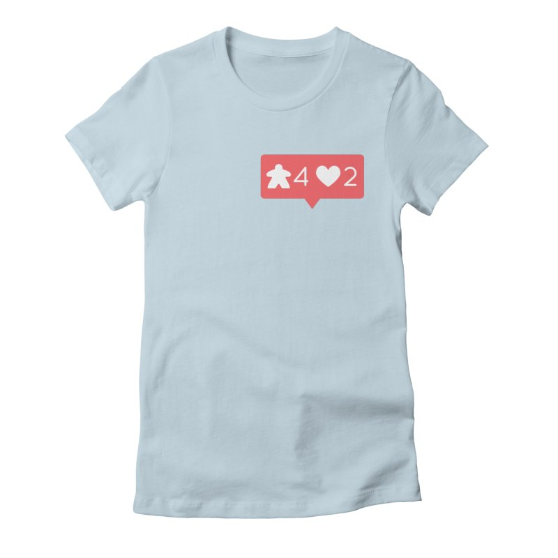 Likes! Women's Fitted T-Shirt by Semi Co-op