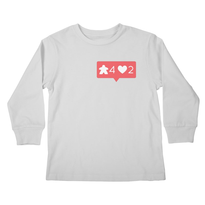 Likes! Kids Longsleeve T-Shirt by Semi Co-op